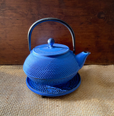 Japanese Style Cast Iron Tea Pot, Mica