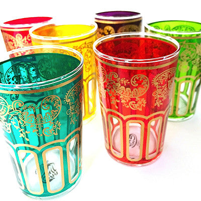 Casablanca Moroccan Tea Glasses