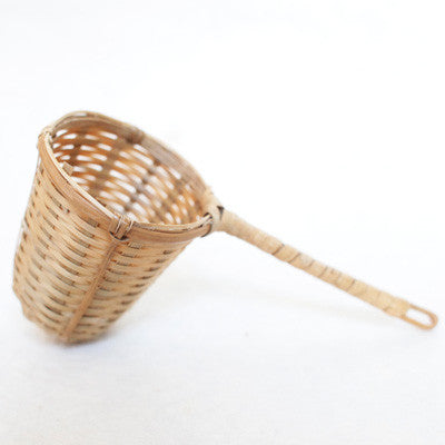 Bamboo Tea Basket - Single