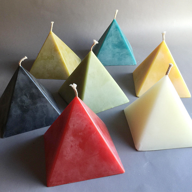 Large Pyramid Candle