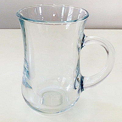 Turkish Tea Glass with Handle