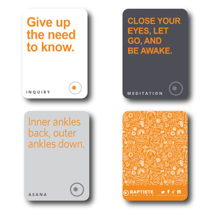 Baptiste Institute Intention Cards
