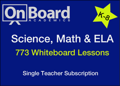 Science, Math and ELA Subscription