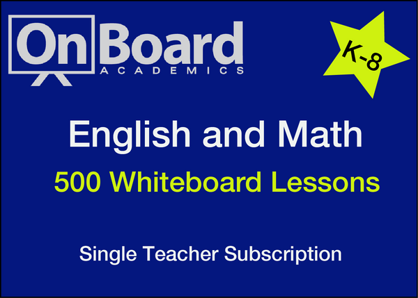 English and Math Subscription