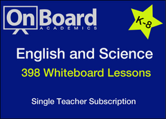 English and Science Subscription