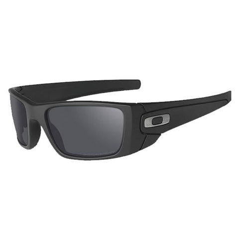 Oakley SI Fuel Cell Cerakote Graphite Black/Black Iridium Polarized