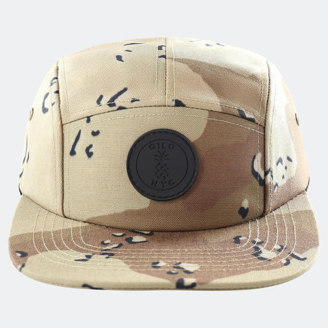 Qilo Choco Chip 5-Panel Camp Cap