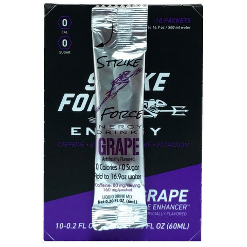 Strike Force Energy 10 Count Box - Grape