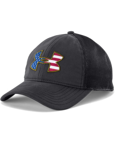 Under Armour Big Flag Logo Mesh Cap Under Armour Hats - 1