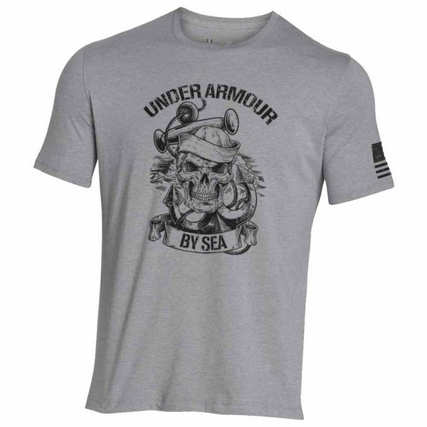 UA Freedom Navy SS T-Shirt