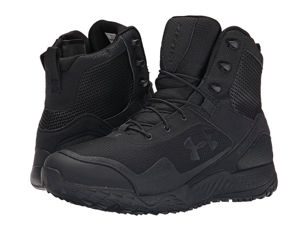 UA Valsetz RTS Side Zip Boot Black