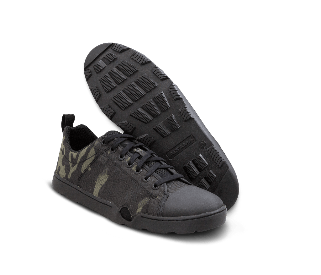 2a07f0a5ef3 Altama Multicam Black OTB Maritime Assault Low Shoes | Tactical Distributors