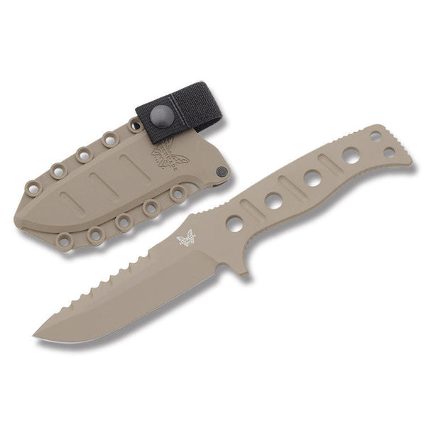 Benchmade Adamas Fixed Blade - Sand Blade and Sheath Benchmade Knives & Tools - 1