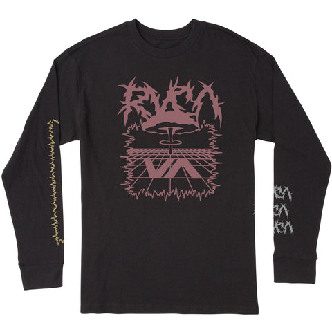 RVCA Nuke Long Sleeve Tee Shirt - NO RETURNS