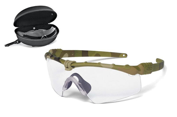 Oakley SI Ballistic M-Frame 3.0 Multicam Frame-Clear/Grey Lenses Oakley Shooting Glasses