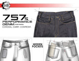 S&S Precision 757's Performance Denim - ONLY 38X34 LEFT!