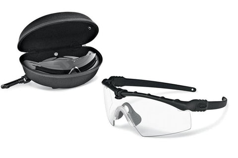 SI BALLISTIC M FRAME 3.0 BLACK ARRAY CLEAR & GREY Oakley Shooting Glasses