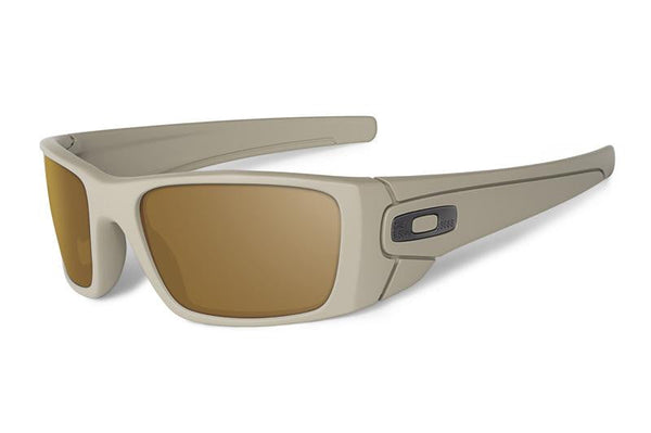 Oakley SI Fuel Cell Cerakote Desert Sage-Tungsten Iridium Polarized Oakley Shooting Glasses