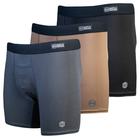 Battle Briefs Solid 3 Pack