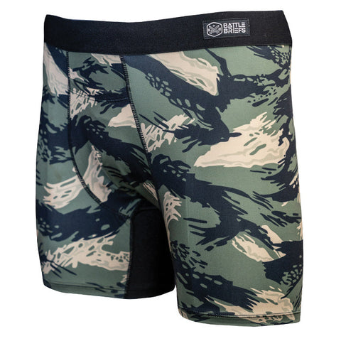 Battle Briefs Tiger Camo