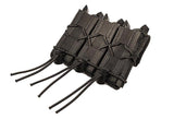 HSGI Triple Pistol TACO Belt Mount High Speed Gear Ammunition Cases & Holders - 9