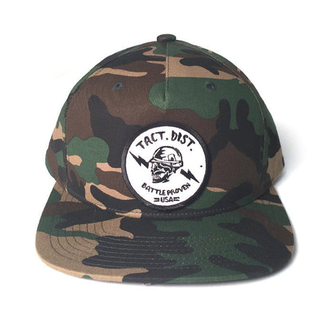 TD Battle Proven Pinch Front Snapback Hat Camo