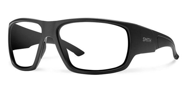 Smith Dragstrip Elite Black Frame Clear Lens