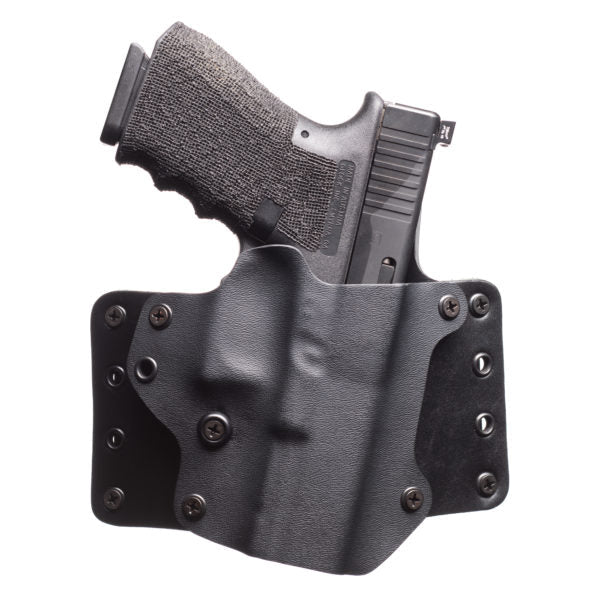 "BlackPoint Tactical Leather Wing Holster 1.75"" - Glock 19/23"