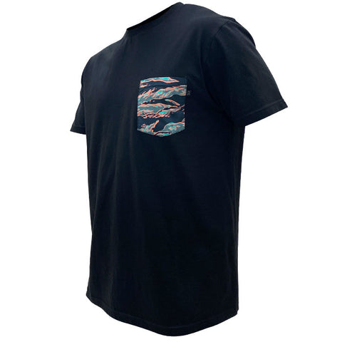 TD Dean Miami Tiger Stripe Pocket Tee