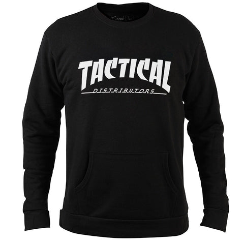 TD Thrasher Flames Crew Neck Sweatshirt