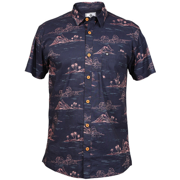 TD Frogman Button-Up