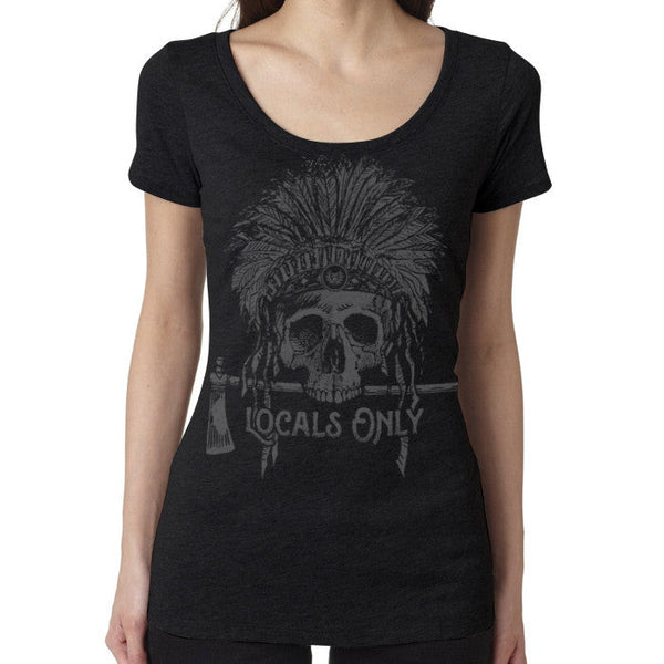 TD Women's Locals Only Tee-ONLY Large & XL LEFT! Tactical Distributors Women's Graphic Tee - 1