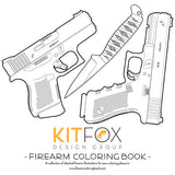 Kitfox Firearm Coloring Book