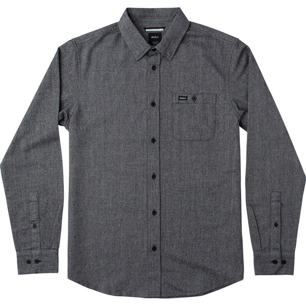 RVCA Illusions LS Button Up RVCA Long Sleeve Shirt - 1