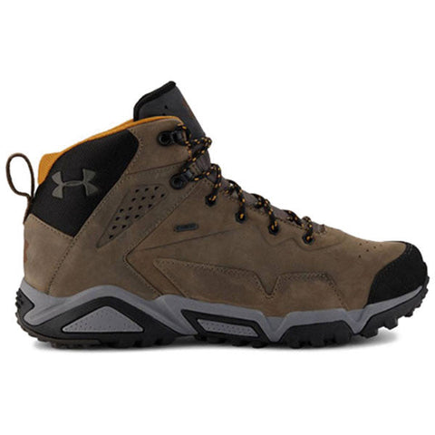 Men's UA Tabor Ridge Leather Boots Under Armour Hiking Boots