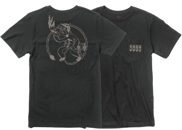 RVCA Mission Tee RVCA Graphic Tee - 1