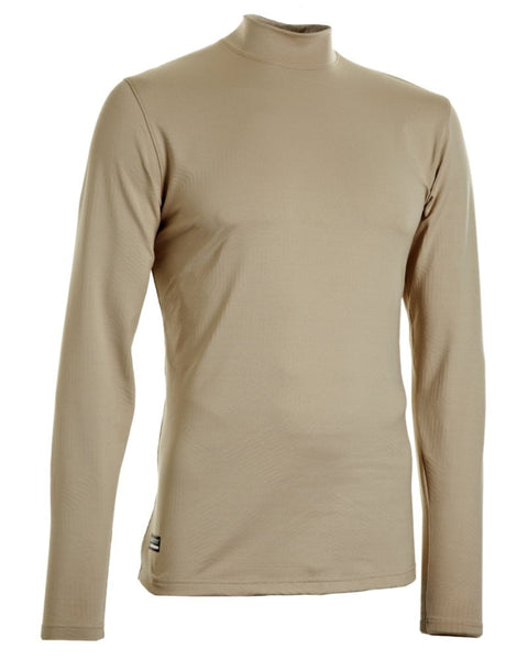 UA Coldgear Infrared Tactical Fitted Mock Under Armour Base Layer Top - 1