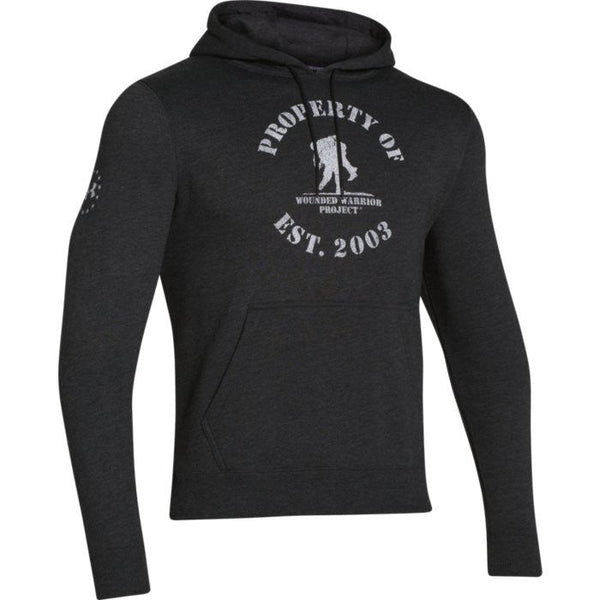 UA-WWP Property of Fleece Under Armour Hoodie Sweatshirt - 3