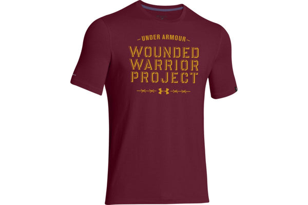 UA WWP Barbed Wire T-Shirt Under Armour Graphic Tee - 6