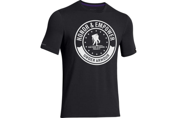 UA WWP Circle T-Shirt Under Armour Graphic Tee - 3