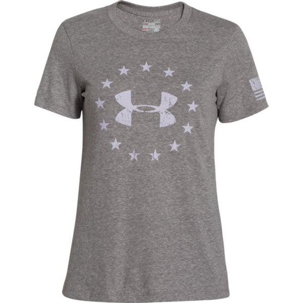 Under Armour Women's Freedom Logo Short Sleeve Under Armour Graphic Tee - 5