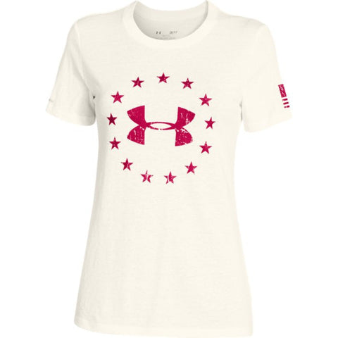 Under Armour Women's Freedom Logo Short Sleeve Under Armour Graphic Tee - 1