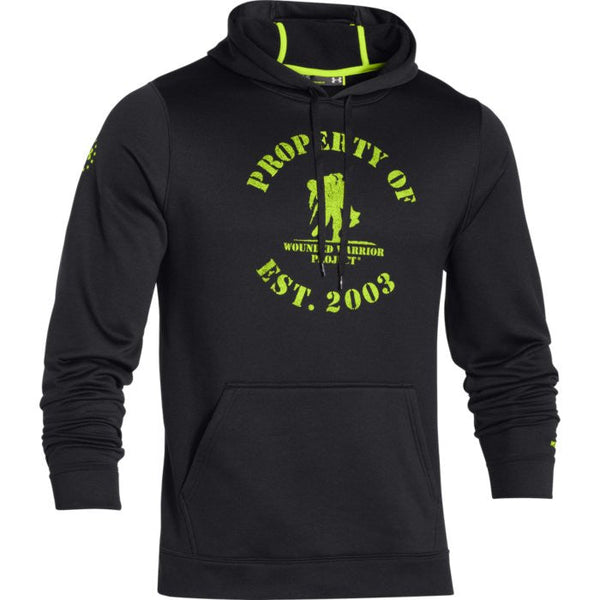 Under Armour WWP Property Of Hoodie Under Armour Hoodie Sweatshirt - 1