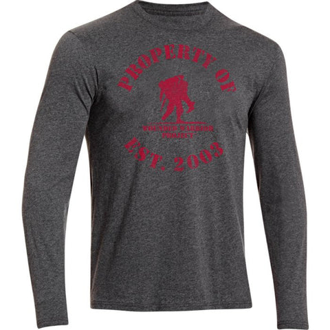Under Armour WWP Property Of LS T-Shirt Under Armour Long Sleeve Shirt - 1