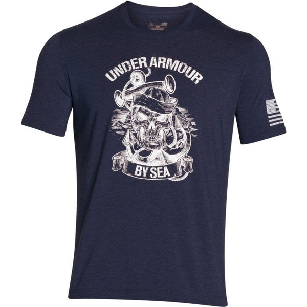 UA Freedom Navy SS T-Shirt Under Armour Graphic Tee - 1