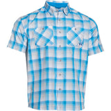 UA Chesapeake 2 SS Plaid Under Armour Short Sleeve Shirt - 1