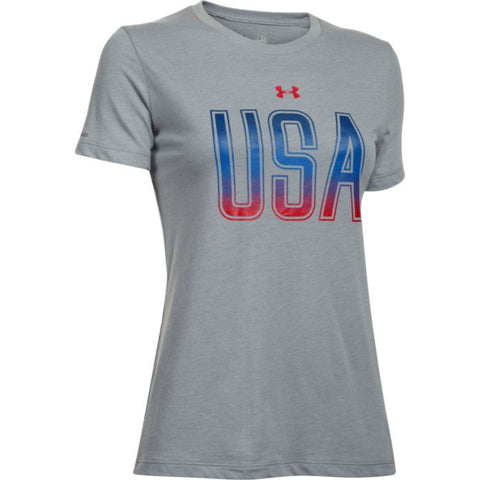 UA WMN Memorial Day Tee Under Armour Women's Graphic Tee - 1