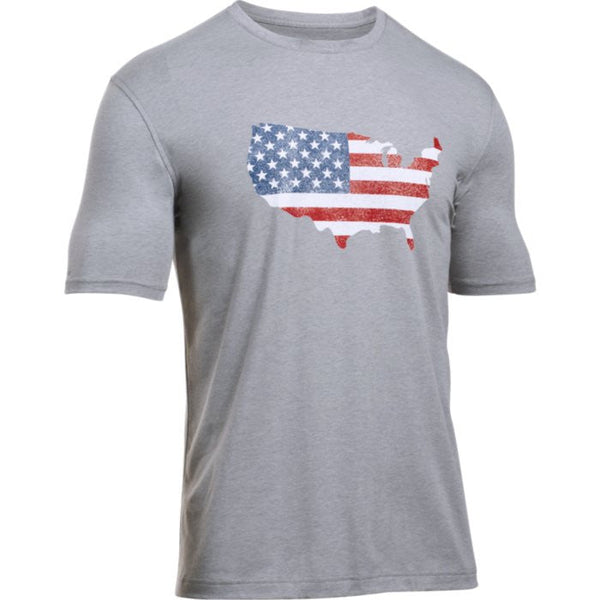 UA Freedom Flag Map T