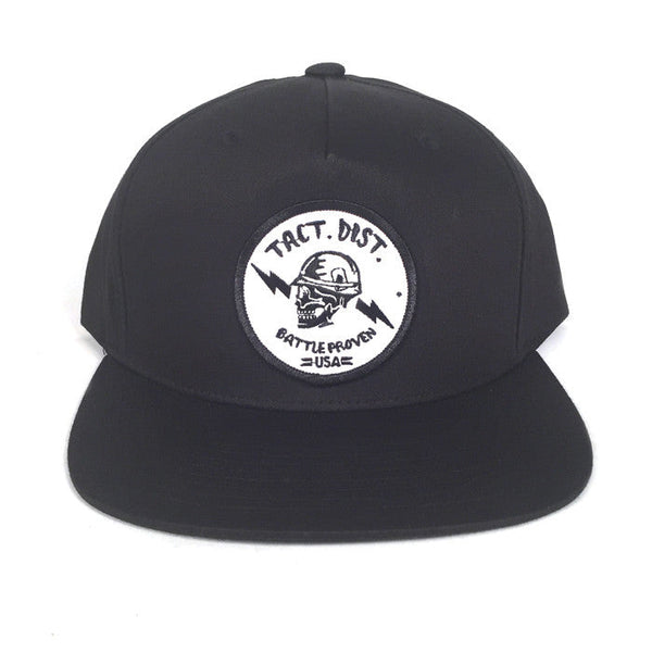 TD Battle Proven Pinch Front Snapback Hat Black
