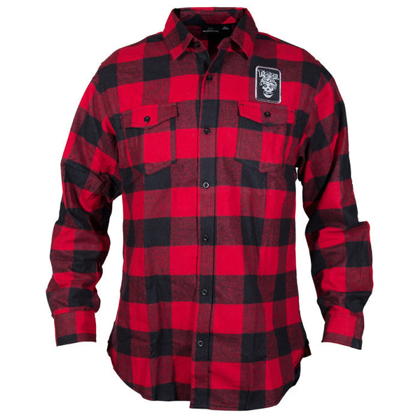TD Misfits Patch Flannel
